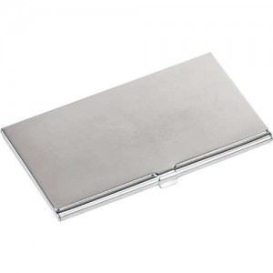 Silver Plated Card Case