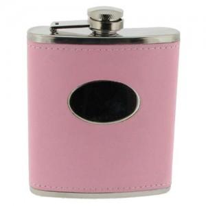 Pink Hip Flask