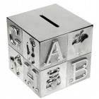 Square Alphabet Money Box