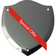 Record Shield  Bevelled 40 x 34 mm