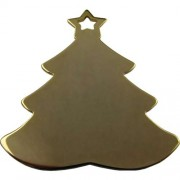 Gold Plated Christmas Tree
